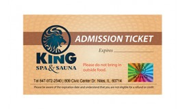 10 Admission Tickets [No expiration date - Store pickup only]